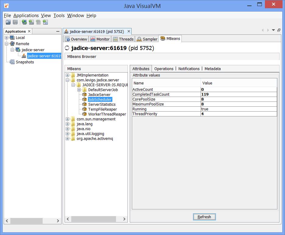 Chapter 9  Monitoring - - jadice server Version 5 7 8 0